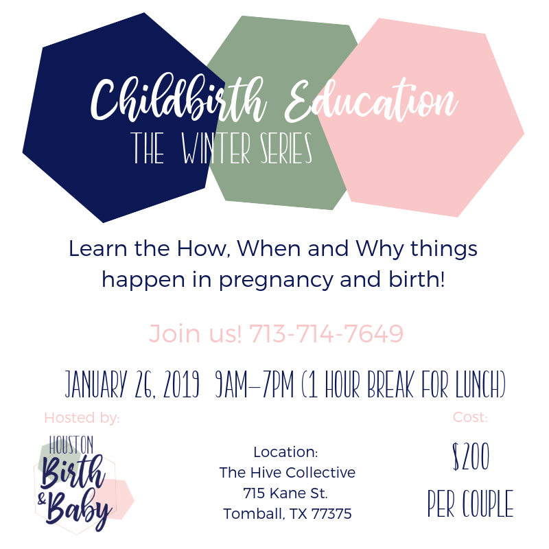 Childbirth classes in Houston